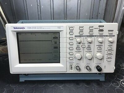tektronix Tds 210 Oscilloscopio Digital Real Time Spettro