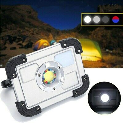 30W  Portable Rechargeable COB LED Camping Lantern Work Spot Light for Hiking