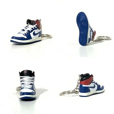 3D mini sneaker keychain Air Jordan 1 x UNION BLUE1:6 Michael 05-68 madxo