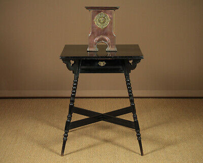 Antique Aesthetic Movement James Shoolbred & Co Side Table c.1880.