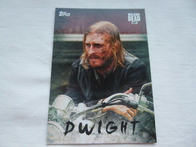 The Walking Dead Season 7 Character Chase Card Dwight C-19