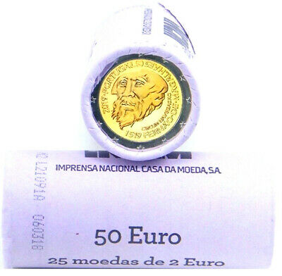 PORTUGAL cartucho original 2 euro 2019 MAGALLANES