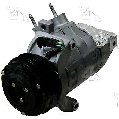 Four Seasons 168665 New Compressor And Clutch