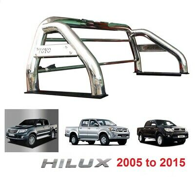 Pickup Roll Bar Stainless Steel Sports accessories Roll Bar Toyota Hilux HI lux