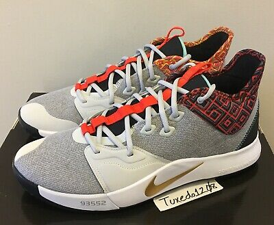 e0d9fd8bed5 DS Nike PG 3 BHM sz 12 nasa asg playstation PS 2 2.5 Paul George BQ6242