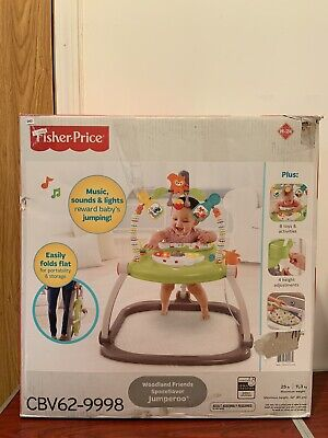 NEW Fisher Price Woodland Friends SpaceSaver Jumperoo