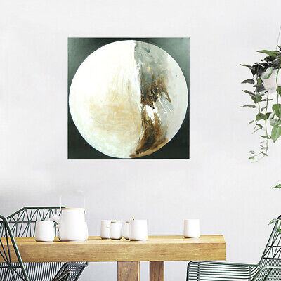 Modern Abstract Hand Painted Canvas Oil Painting Home Decor Framed Moon Fairy