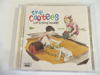 THE COOTEES ‎– Let's Play House - CD 1997 Tooth & Nail - PUNK - MxPx Side Projec