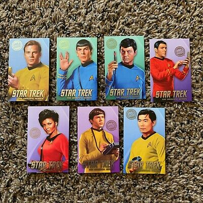 Dave and Busters Star Trek Coin Pusher Cards | Standard & Limited Edition Foil
