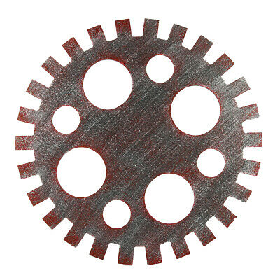 42cm Industrial Wood Wooden Gear Vintage Retro Art Bar Cafe Wall Hanging