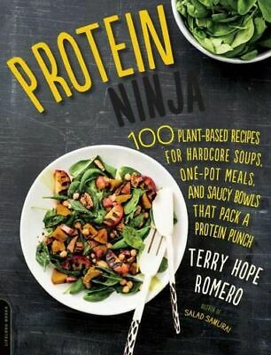 NEW Protein Ninja By Terry Romero Paperback Free Shipping