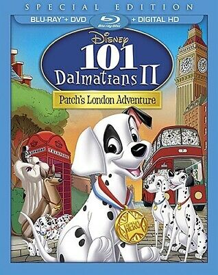 101 DALMATIANS II PATCH'S LONDON ADVENTURE New Blu-ray + DVD Special Edition