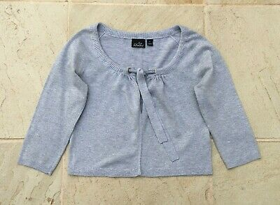 Ripe Ladies Maternity Sz S Silver Tie Front Cardigan In Very Good Condition.