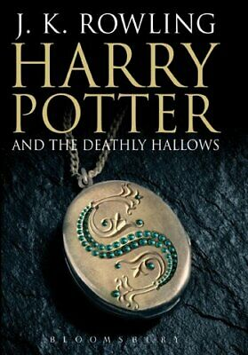 Harry Potter and the Deathly Hallows (Book 7) [Adul... by J. K. Rowling Hardback
