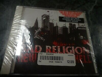 Bad Religion New Maps Of Hell CD BRAND NEW SEALED NOFX Green Day Blink 182 AFI !
