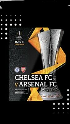 Arsenal v Chelsea - UEFA Europa League Final - 29 May 2019 - £11-Free postage