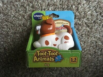Vtech TOOT-TOOT ANIMALS DOG Educational Preschool Young Child Toy BN
