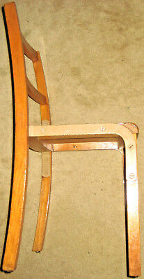 Vintage Infant Stacking Beechwood Chair