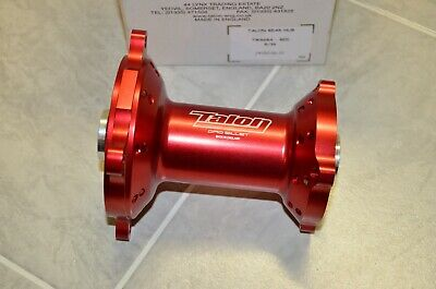 Talon Pro Billet Nabe Radnabe Rear hinten TW668A R/36 red rot Honda CRF 150 17mm