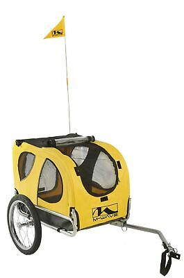 M Wave Pet Bicycle Trailer - Yellow