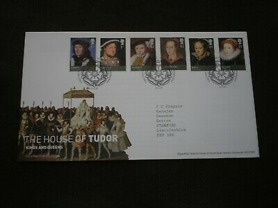 2009 GB Stamps THE HOUSE OF TUDOR First Day Cover TALLENTS HOUSE Cancels FDC