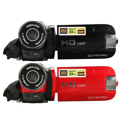 16MP 16X Zoom 2.7 Inch HD 1080P LCD Digital Video Camera Camcorder DV Touch