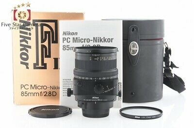 Excellent+++!! Nikon PC MICRO NIKKOR 85mm f/2.8 D from Japan