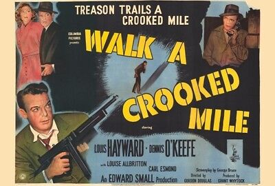 walk a crooked mile 1948 dvd