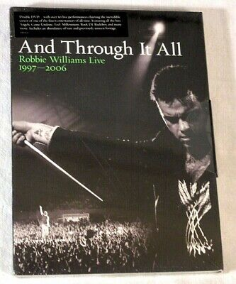 Robbie Williams Live 1997-2006 And Through it All Double DVD FREE UK POST NEW 💿