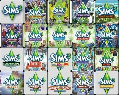 The Sims 3 All Expansions Bundle PC Download