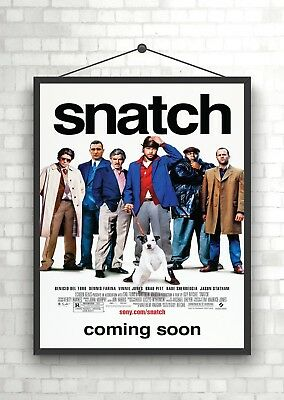 Snatch Classic Large Movie Poster Print