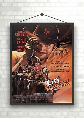 A0 A1 A2 A3 A4 Sizes City Slickers Vintage Movie Giant Poster
