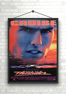 Days Of Thunder Tom Cruise Classic Large Movie Poster Print