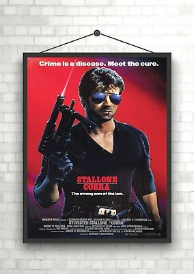 A2 A4 sizes A3 A1 Nighthawks Sylvester Stallone Vintage Movie Poster