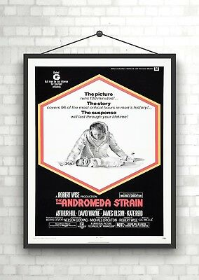 Andromeda Strain Vintage Large Movie Poster Art Print A0 A1 A2 A3 A4 Maxi