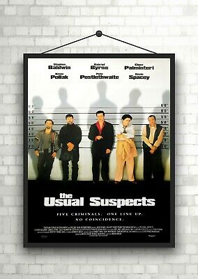 The Usual Suspects Classic Large Movie Poster Print Maxi A1 A2 A3 A4