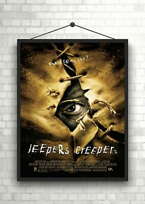 Jeepers Creepers Horror Classic Large Movie Poster Art Print Maxi A1 A2 A3 A4