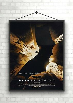 Batman Logo The Dark Knight Rises Movie Poster Art Print A0 A1 A2 A3 Maxi