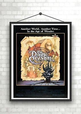 The Dark Crystal Vintage Classic Large Movie Poster Print A0 A1 A2 A3 A4 Maxi