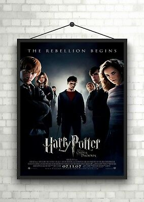 Harry Potter Order Pheonix Classic Large Movie Poster Print A0 A1 A2 A3 A4 Maxi