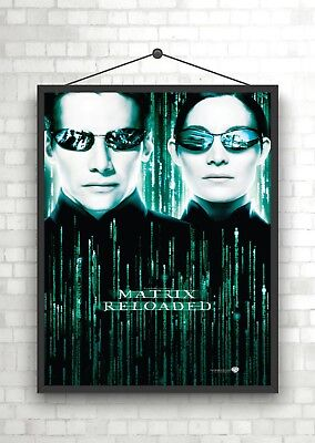 The Matrix Code Classic Movie Large Poster Art Print Maxi A1 A2 A3 A4