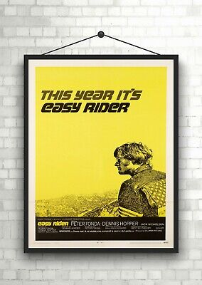 Easy Rider Vintage Movie Poster Art Print Maxi A1 A2 A3 A4