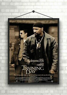 Training Day Classic Large Movie Poster Art Print Maxi A1 A2 A3 A4