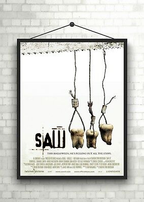 SAW III Classic Horror Large Movie Poster Print A0 A1 A2 A3 A4 Maxi