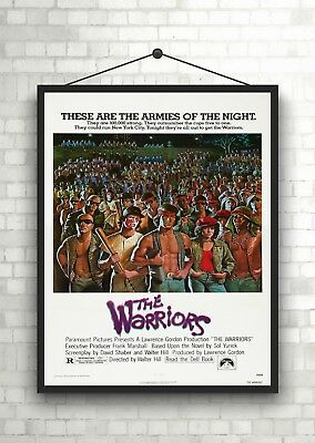 The Warriors Classic Large Movie Poster Art Print A0 A1 A2 A3 A4 Maxi