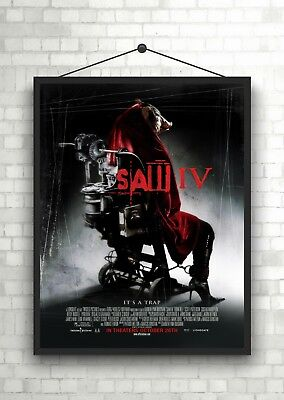 SAW IV Horror Classic Large Movie Poster Print A0 A1 A2 A3 A4 Maxi
