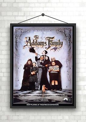 The Addams Family Classic Large Movie Poster Print