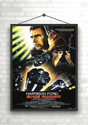 Blade Runner Vintage Classic Large Movie Poster Print A0 A1 A2 A3 A4 Maxi