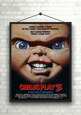 Childs Play 3 Horror Classic Large Movie Poster Art Print Maxi A1 A2 A3 A4