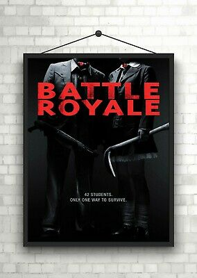 Battle Royale Classic Large Movie Poster Print Maxi A1 A2 A3 A4